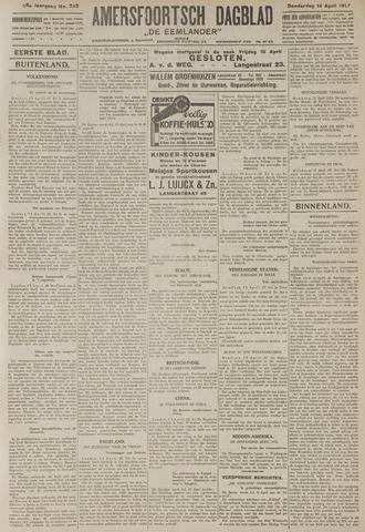 Amersfoortsch Dagblad / De Eemlander 1927-04-14