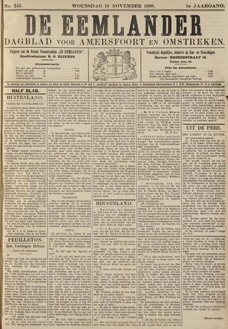De Eemlander 1908-11-18