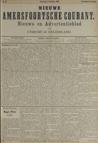 Nieuwe Amersfoortsche Courant 1885-10-10