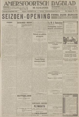 Amersfoortsch Dagblad / De Eemlander 1930-09-20