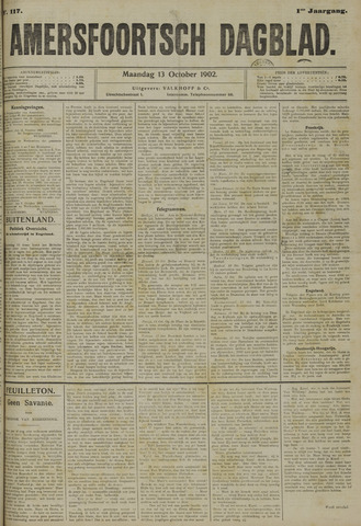 Amersfoortsch Dagblad 1902-10-13