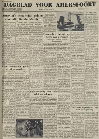 Dagblad voor Amersfoort 1949-09-16