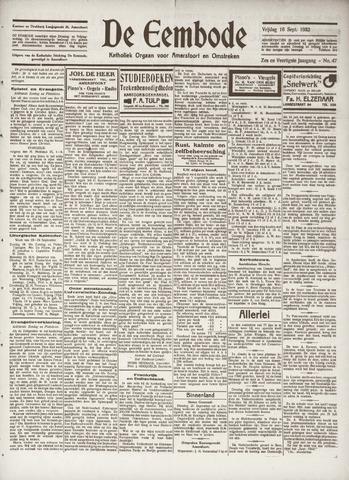 De Eembode 1932-09-16
