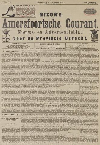 Nieuwe Amersfoortsche Courant 1913-11-05