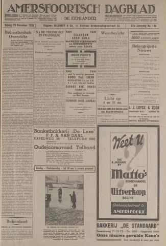 Amersfoortsch Dagblad / De Eemlander 1933-12-29