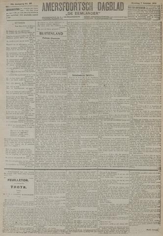 Amersfoortsch Dagblad / De Eemlander 1919-10-07
