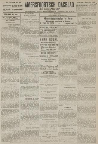 Amersfoortsch Dagblad / De Eemlander 1925-08-08