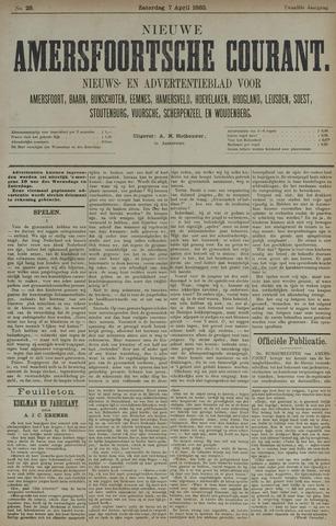 Nieuwe Amersfoortsche Courant 1883-04-07