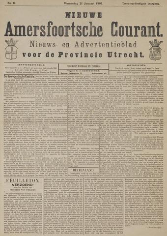 Nieuwe Amersfoortsche Courant 1903-01-21