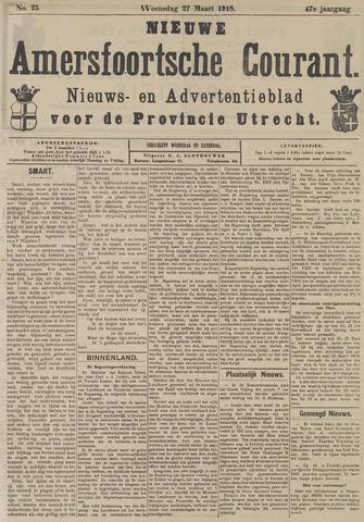 Nieuwe Amersfoortsche Courant 1918-03-27