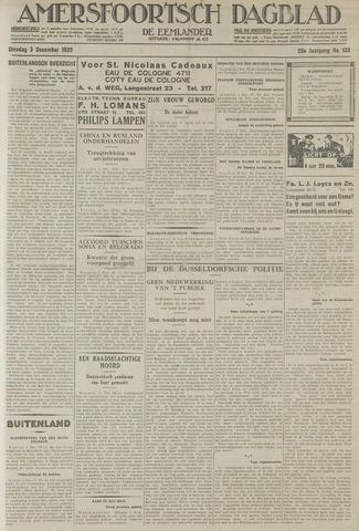 Amersfoortsch Dagblad / De Eemlander 1929-12-03