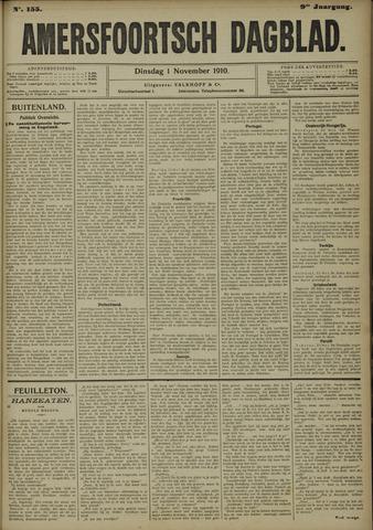 Amersfoortsch Dagblad 1910-11-01
