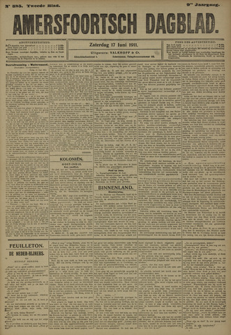 Amersfoortsch Dagblad 1911-06-17