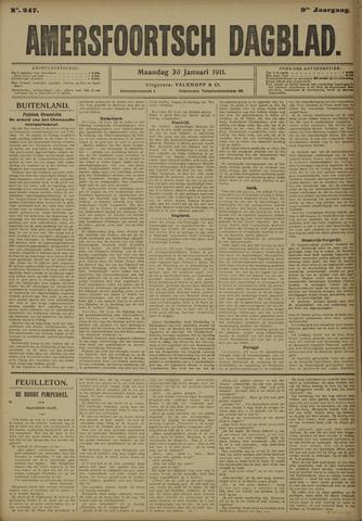 Amersfoortsch Dagblad 1911-01-30