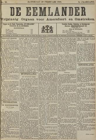De Eemlander 1908-02-29