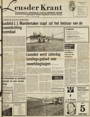 Leusder Krant 1974-05-16