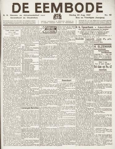 De Eembode 1927-08-23
