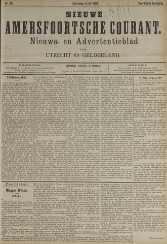 Nieuwe Amersfoortsche Courant 1885-07-11
