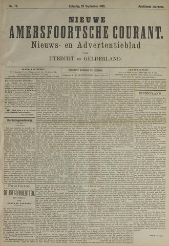 Nieuwe Amersfoortsche Courant 1889-09-28
