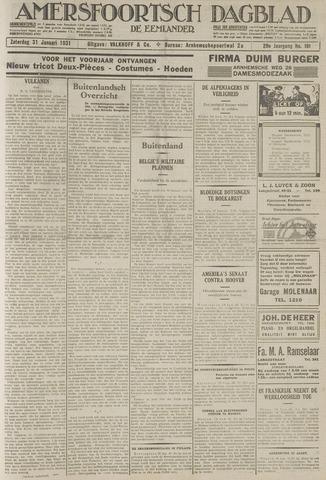 Amersfoortsch Dagblad / De Eemlander 1931-01-31