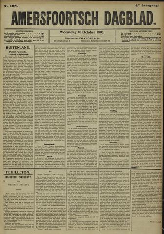 Amersfoortsch Dagblad 1905-10-18