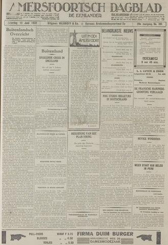 Amersfoortsch Dagblad / De Eemlander 1931-06-13