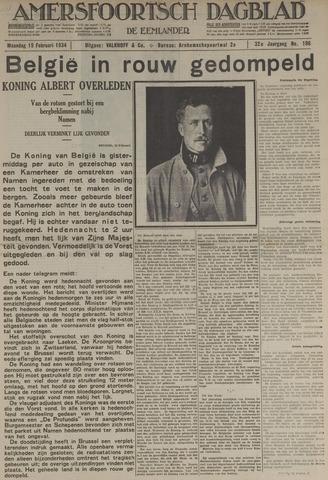 Amersfoortsch Dagblad / De Eemlander 1934-02-19