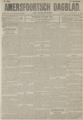 Amersfoortsch Dagblad / De Eemlander 1913-04-30