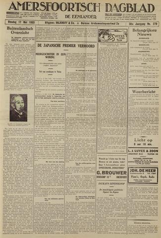 Amersfoortsch Dagblad / De Eemlander 1932-05-17