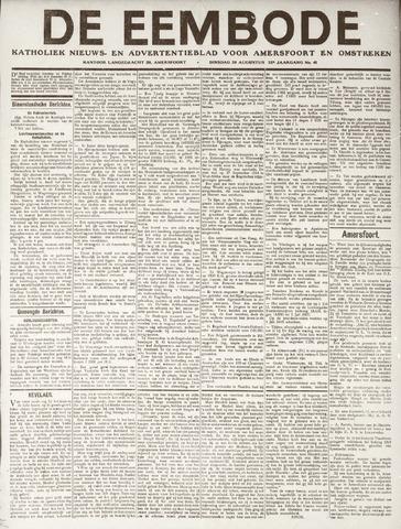 De Eembode 1918-08-20