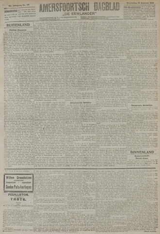 Amersfoortsch Dagblad / De Eemlander 1919-10-15
