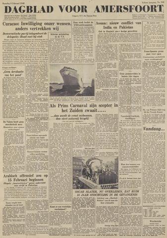 Dagblad voor Amersfoort 1948-02-09