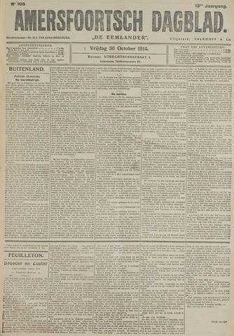 Amersfoortsch Dagblad / De Eemlander 1914-10-30