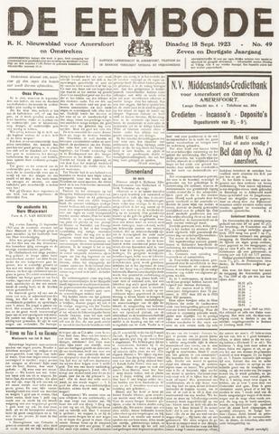 De Eembode 1923-09-18