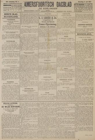 Amersfoortsch Dagblad / De Eemlander 1927-07-05