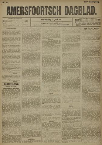 Amersfoortsch Dagblad 1911-07-05