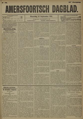 Amersfoortsch Dagblad 1911-09-18