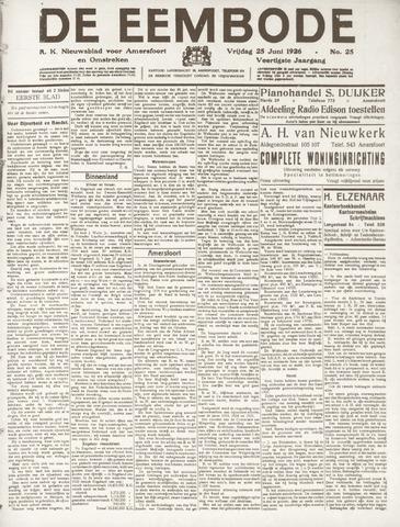 De Eembode 1926-06-25