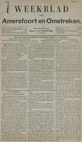 Weekblad voor Amersfoort en Omstreken 1872-06-29