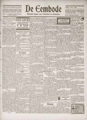 De Eembode 1932-11-04
