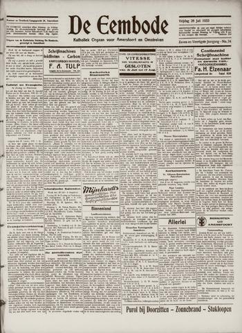De Eembode 1933-07-28