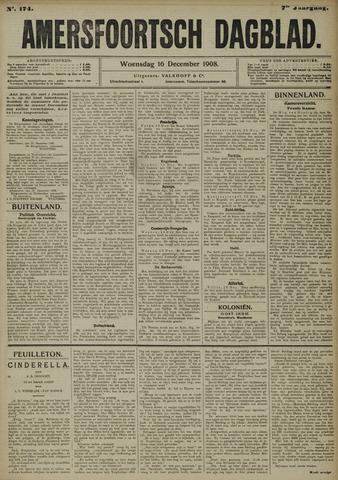 Amersfoortsch Dagblad 1908-12-16