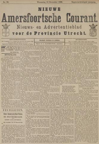 Nieuwe Amersfoortsche Courant 1900-12-12