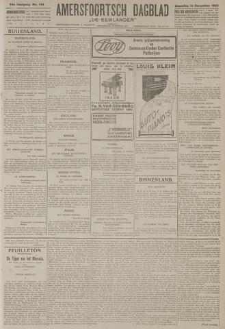 Amersfoortsch Dagblad / De Eemlander 1925-12-14