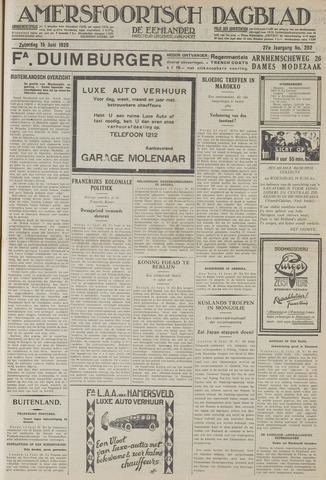 Amersfoortsch Dagblad / De Eemlander 1929-06-15