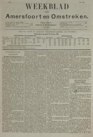 Weekblad voor Amersfoort en Omstreken 1878-03-08