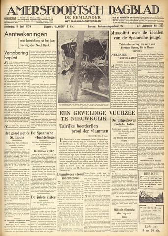 Amersfoortsch Dagblad / De Eemlander 1939-06-08