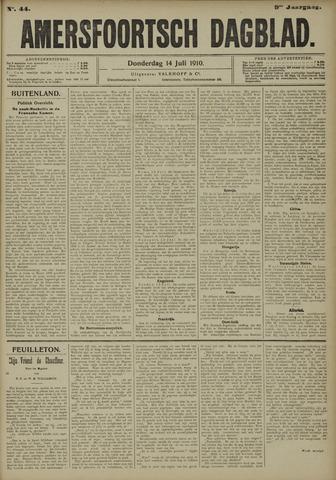 Amersfoortsch Dagblad 1910-07-14