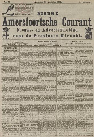 Nieuwe Amersfoortsche Courant 1916-11-29