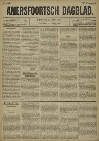 Amersfoortsch Dagblad 1905-01-04